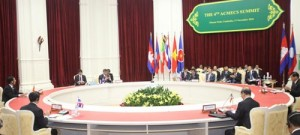 Thein Sein summit, ACMECS 4TH SUMMIT